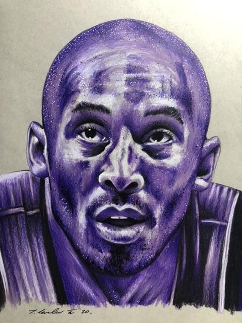 Kobe Bryant by TraceyLawler